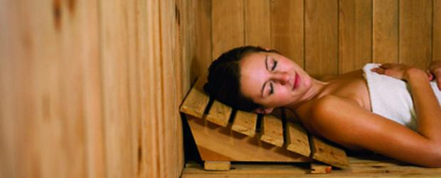 Cómo tomar una sauna